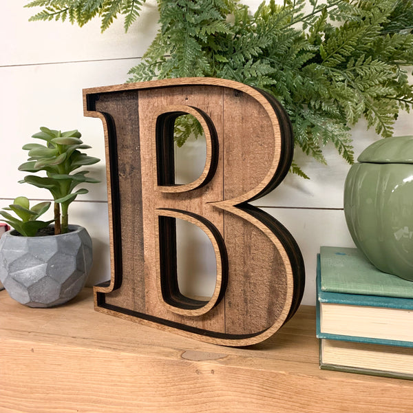 Marquee Wood Letters