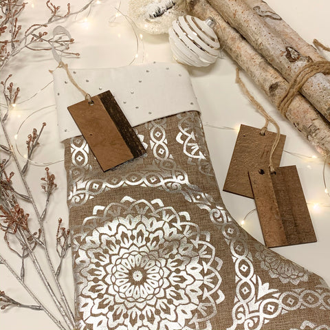 Medium Wooden Gift Tags, Christmas Present Tags. Ornaments