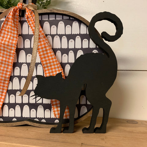 Halloween Black Cat Cutout