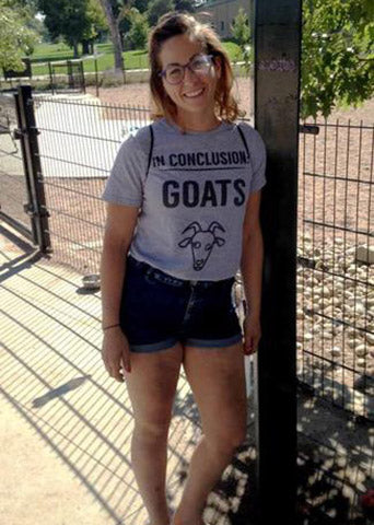 Amanda In Conclusion Goats