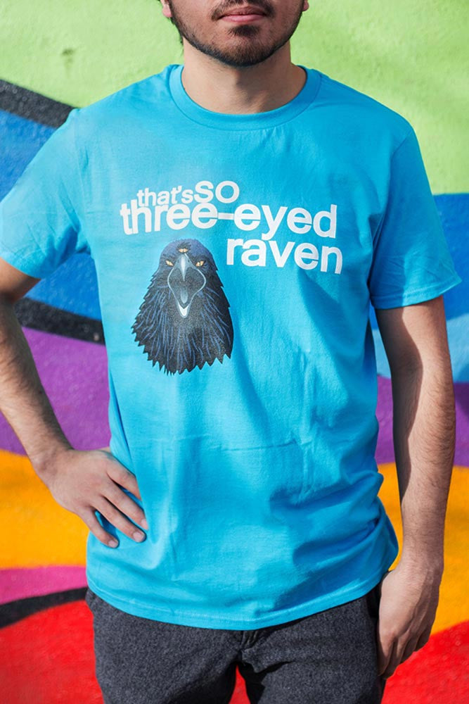 three-eyed raven t shirt, that's so raven t shirt, that's so raven funny, gifts for game of thrones fans, game of thrones t shirt, game of thrones puns, game of thrones gifts for him, game of thrones gifts for her