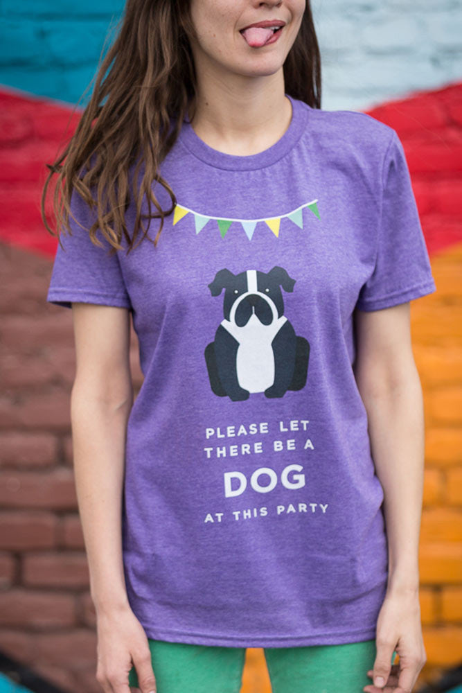 t shirts for dog lovers, t shirts dog lovers, gifts for people with anxiety, gifts for dog lovers, dog at party