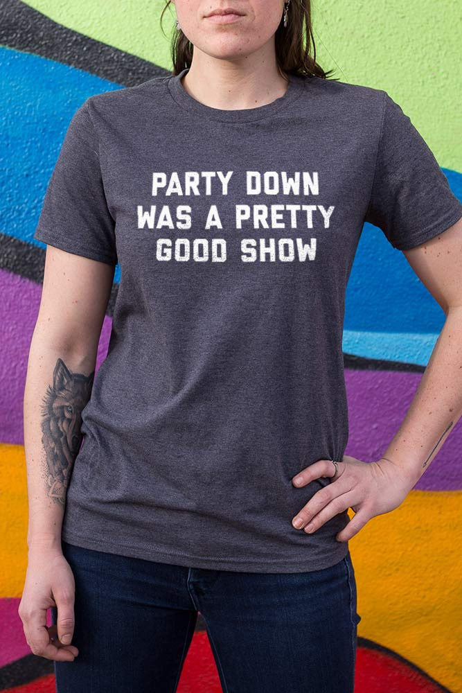 tv show t shirt, party down t shirt, party down funny, party down, adam scott t shirt