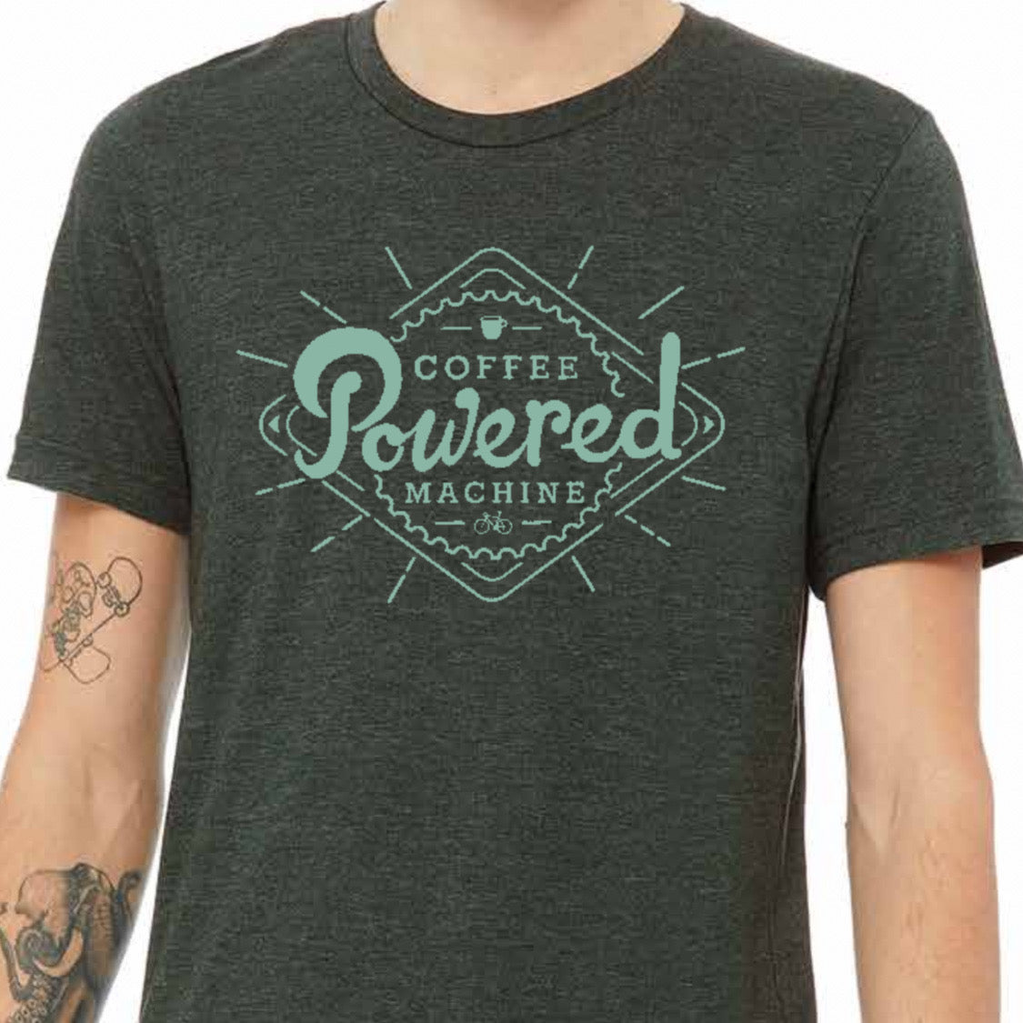Coffee Powered Machine T-shirt