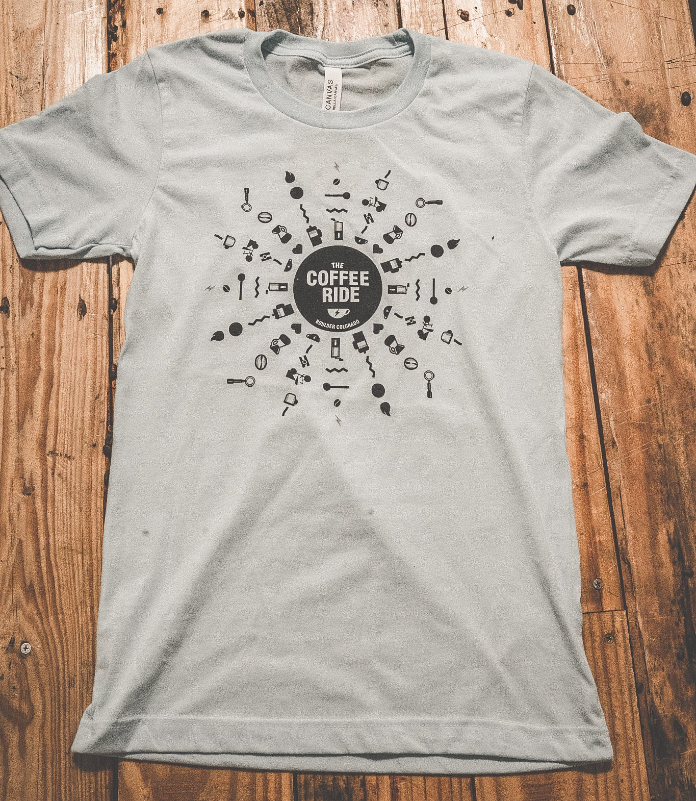 Coffee Ride Icon Shirt