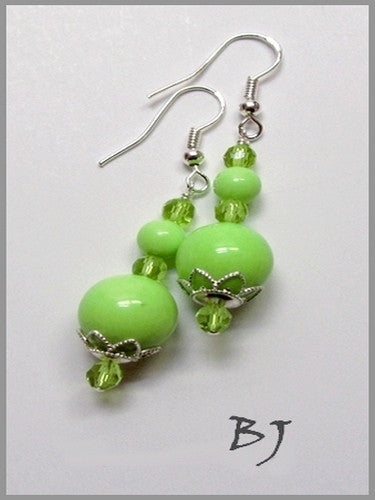 It's Always Time for Lime ~ Necklace Set-Adornments by BJ