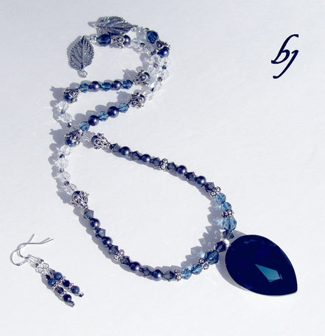 Midnight Blue ~ A Dazzling Display!-Adornments by BJ