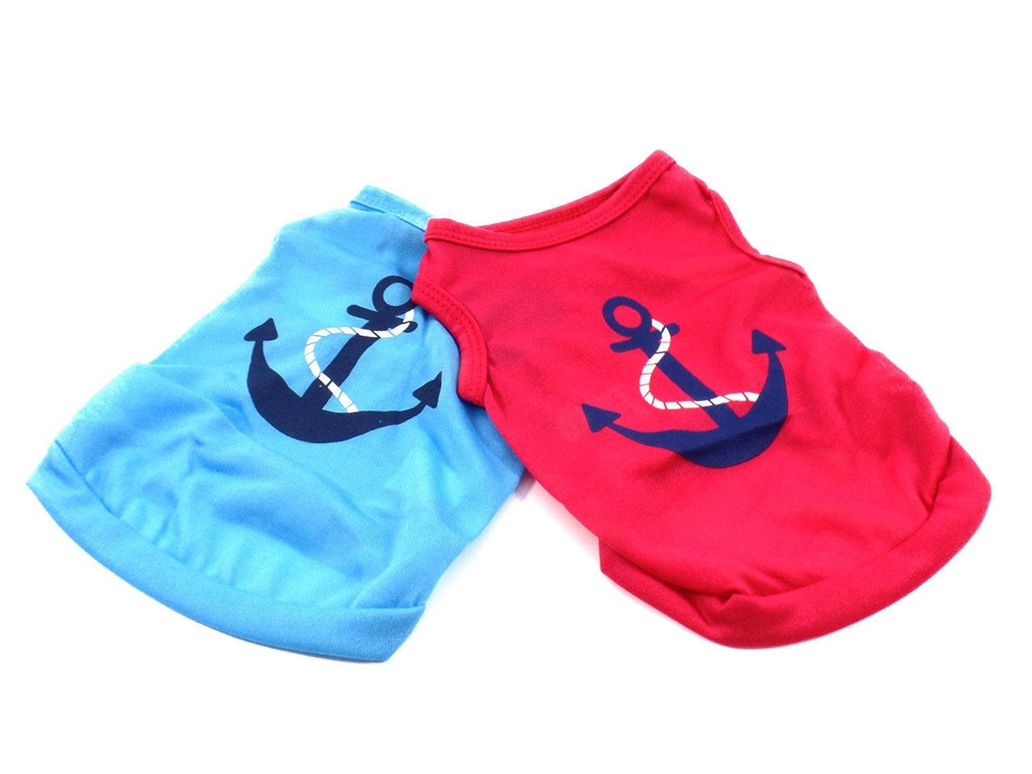 Dog Tee with Anchor - Beach & Dog Co.