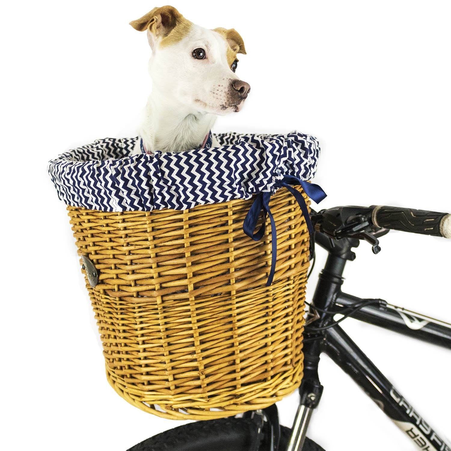 Malibu Front Mount Bike Basket - Beach & Dog Co.