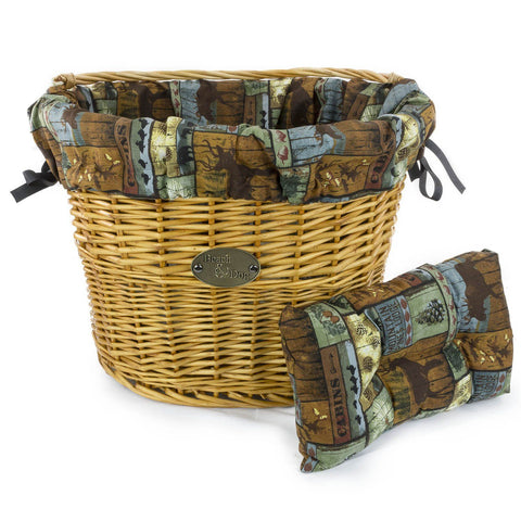 At The Lake Basket Liner - Beach & Dog Co.