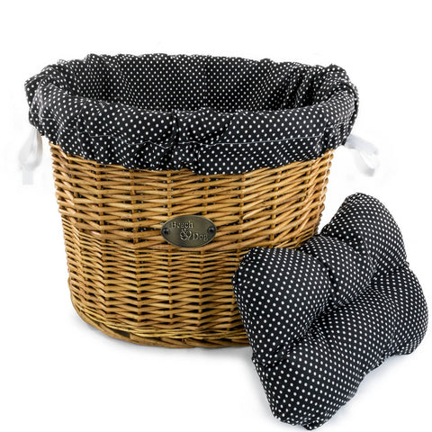 Ghost and Pumpkins Basket Liner