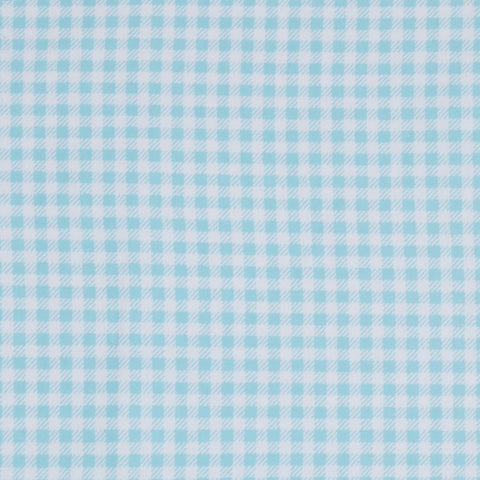 Blue Gingham Basket Liner - Beach & Dog Co.