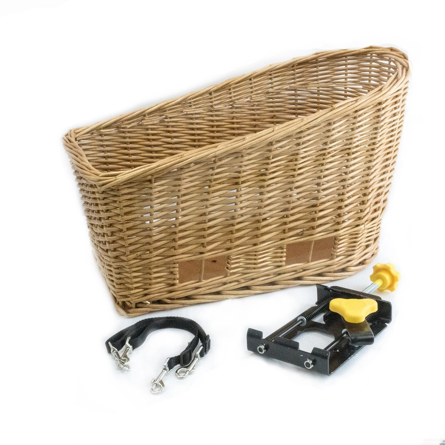 Cape May Rear Mount Bike Basket (Natural) - Beach & Dog Co.