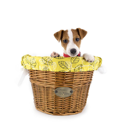 Laguna Front Mount Bike Basket (Natural) - Beach & Dog Co.