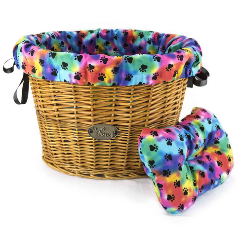 Grateful Dog Basket Liner - Beach & Dog Co