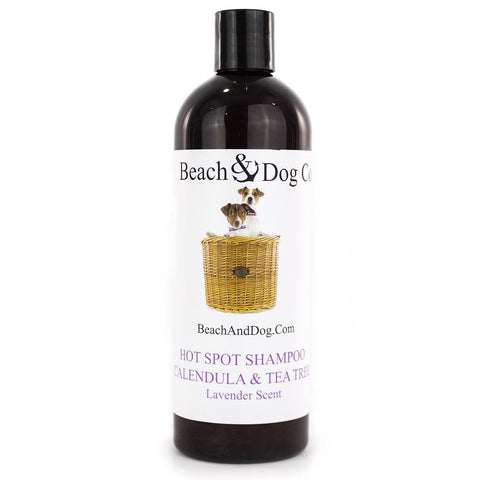 Hot Spot Shampoo (Lavender) - All Natural Itch Relief - Beach & Dog Co.