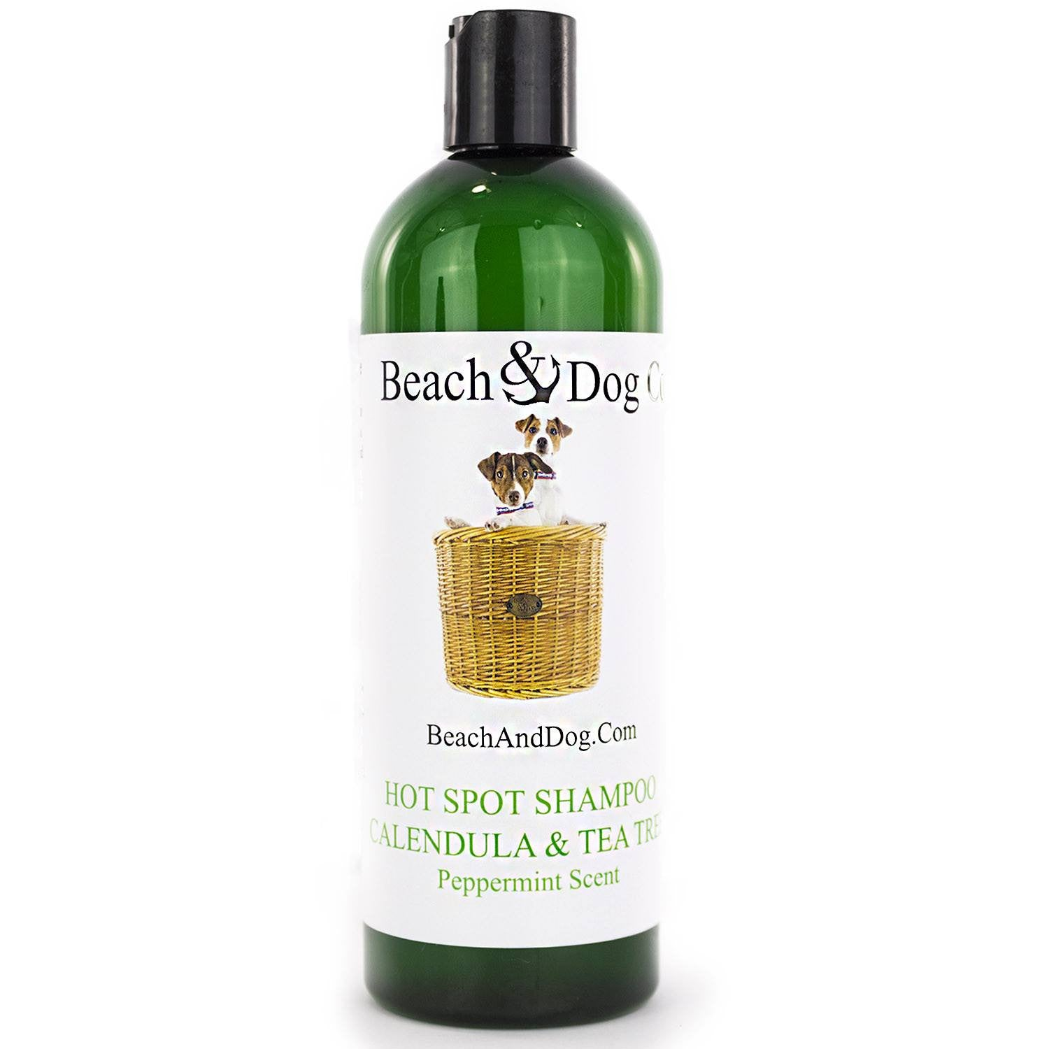 Hot Spot Shampoo (Mint) - All Natural Itch Relief - Beach & Dog Co.