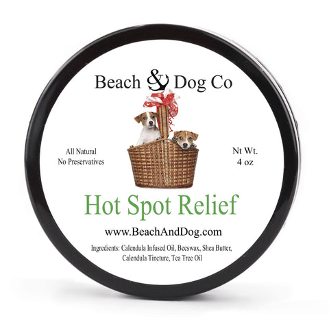 Hot Spot Relief - 4 oz - Natural Itch Relief for Dogs - Beach & Dog Co.