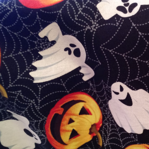 Ghost and Pumpkins Basket Liner - Beach & Dog Co.