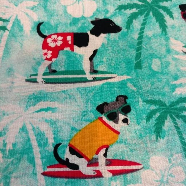Surfing Pups Liner
