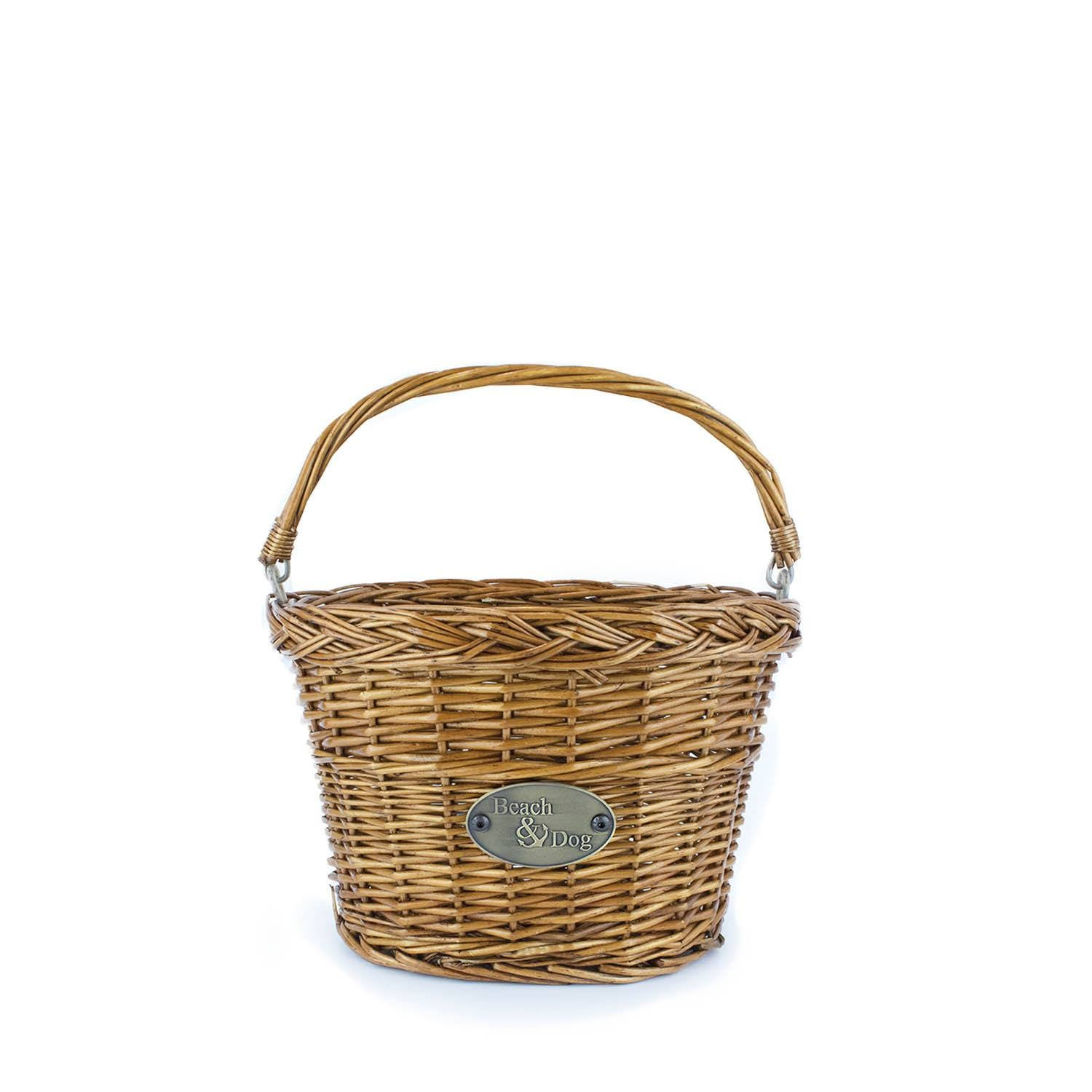 Makena Front Mount Bike Basket - Beach & Dog Co.