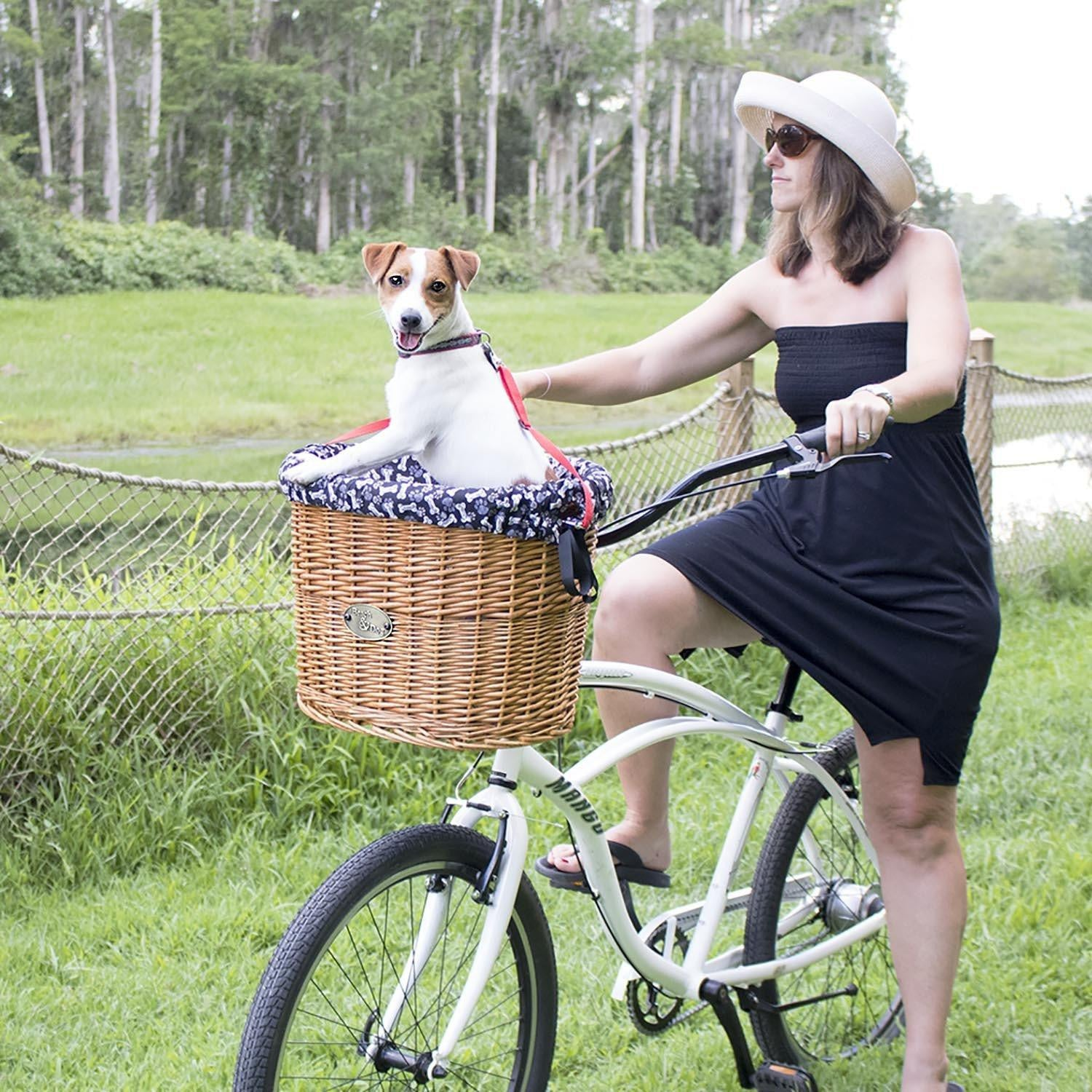Beach & Dog Co. - Malibu Front Mount Bicycle Basket