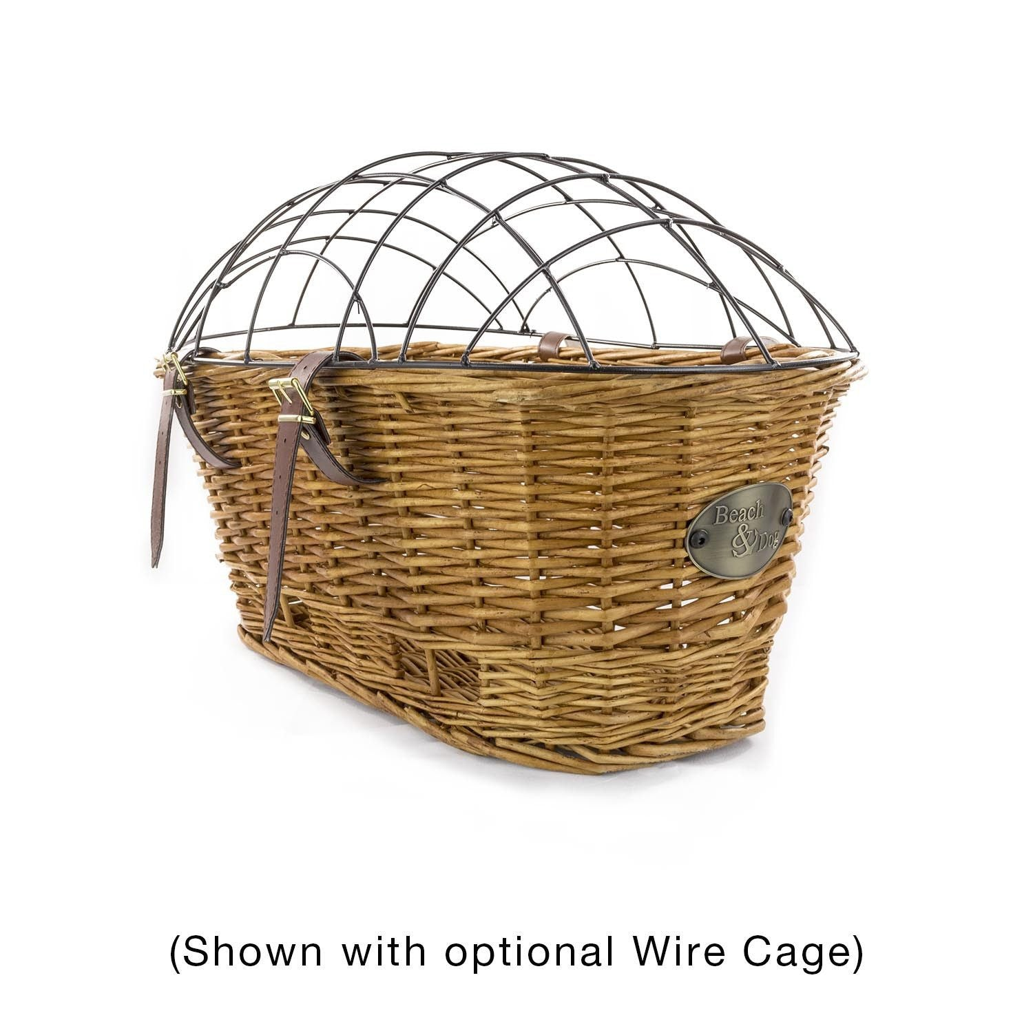 Myrtle Beach Rear Mount Bike Basket - Beach & Dog Co.