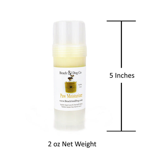 Paw Moisturizer (2 oz Twist Up) All Natural and Organic Formula