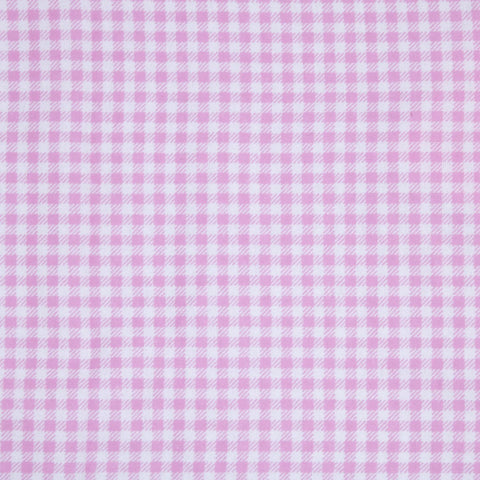 Pink Gingham Basket Liner Pattern - Beach & Dog Co.