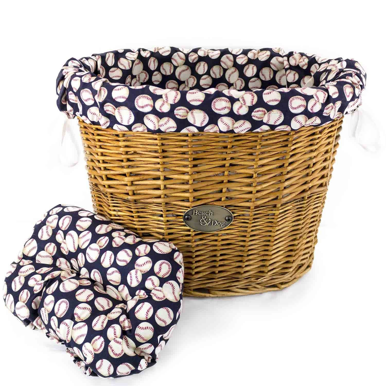 Play Ball! Basket Liner - Beach & Dog Co