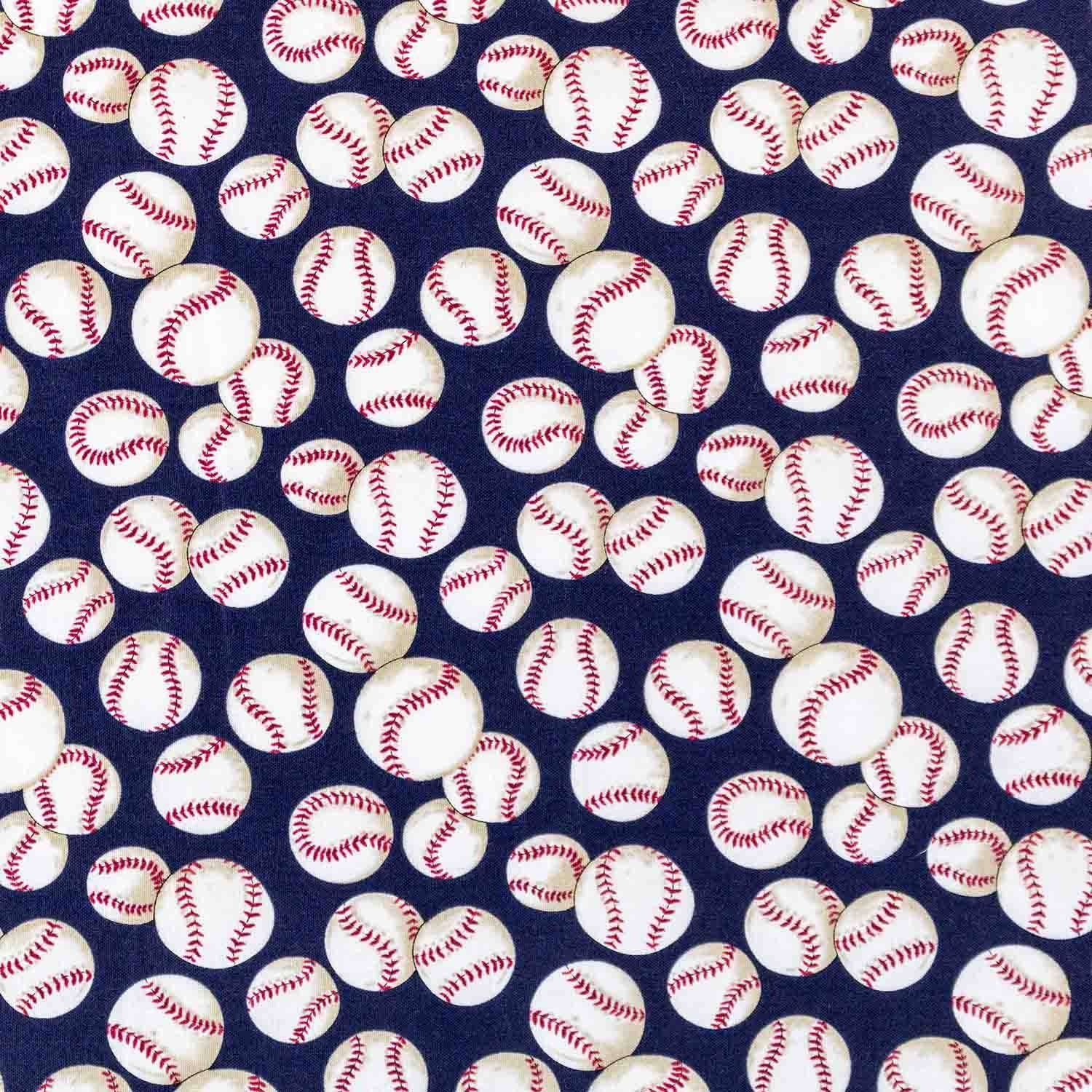 Play Ball! Basket Liner - Beach & Dog Co.