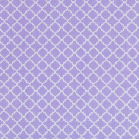 Playful Purple Basket Liner Pattern - Beach & Dog Co.