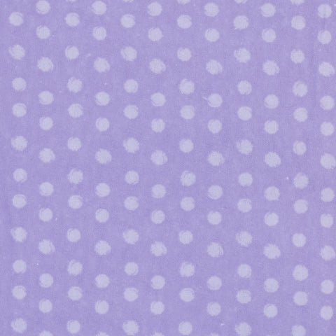 Purple with Large Polka Dots Basket Liner Pattern - Beach & Dog Co.