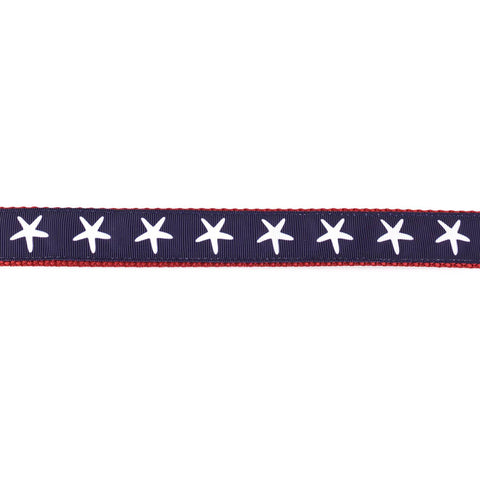 Red, White, and Blue Starfish Leash - Beach & Dog Co.