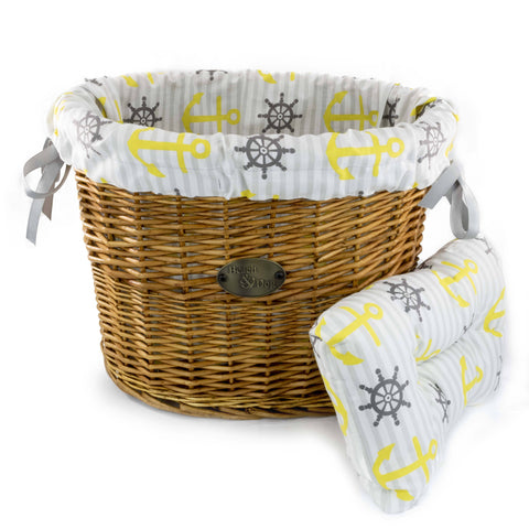 Ship Ahoy! Basket Liner - Beach & Dog Co.