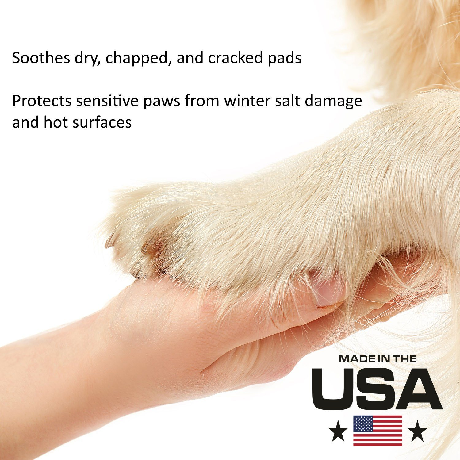 Paw Moisturizer (2 oz Twist Up) All Natural and Organic Formula - Beach & Dog Co.
