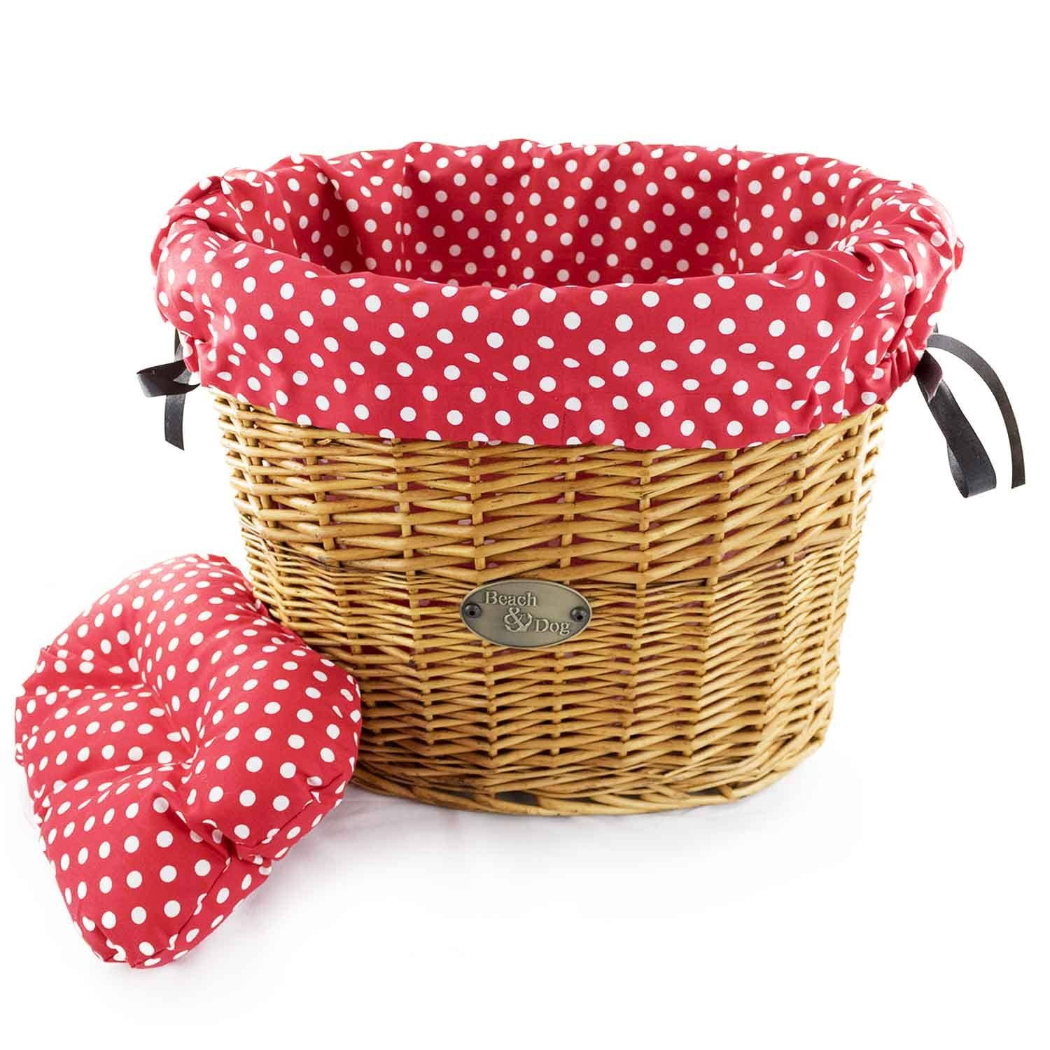 Strawberry shortcake basket liner - Beach & Dog Co