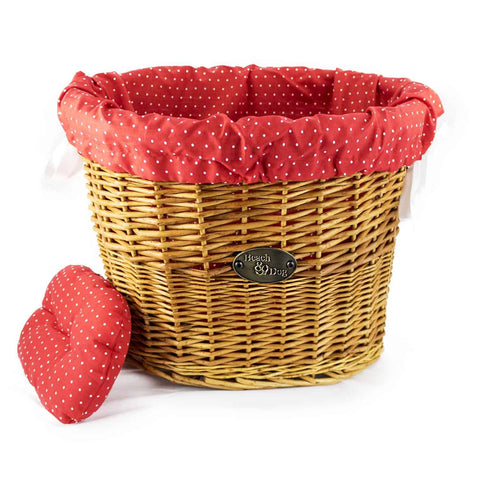 Pretty in Pink Basket Liner