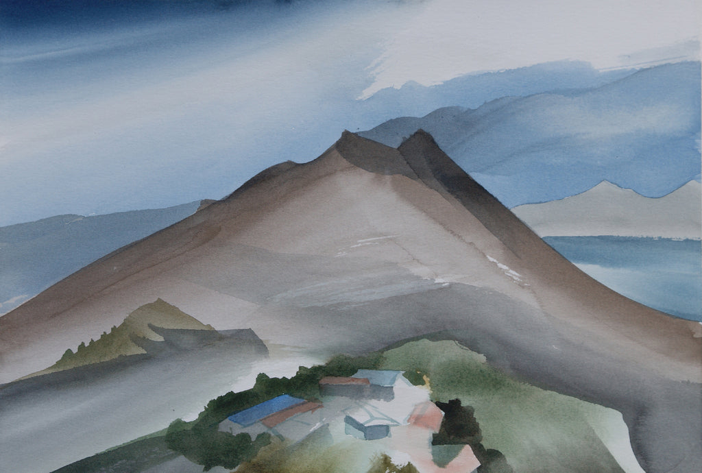 Watercolours: Toni Onley