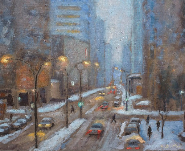 City Winter, Montreal