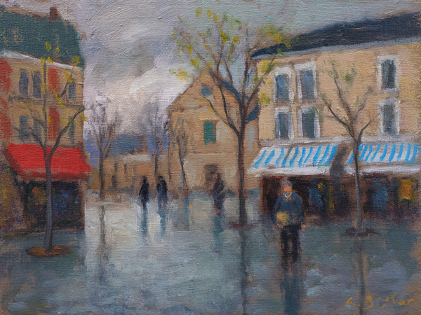 Drizzle in Montmartre, Paris