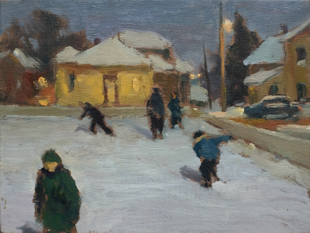 Evening Skaters, Sutton, QC