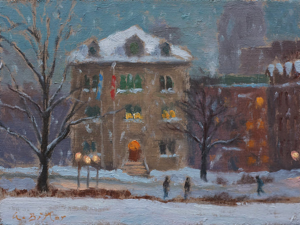 McGill U. Buildings