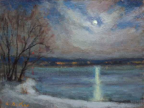 Moonlight on the Lake, Knowlton, QC