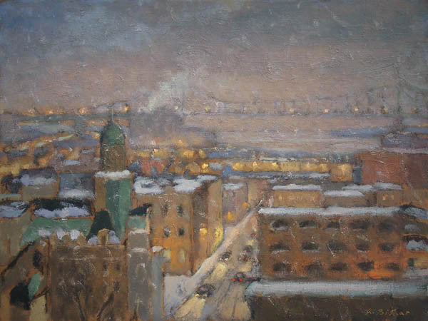 Old Montreal Rooftops