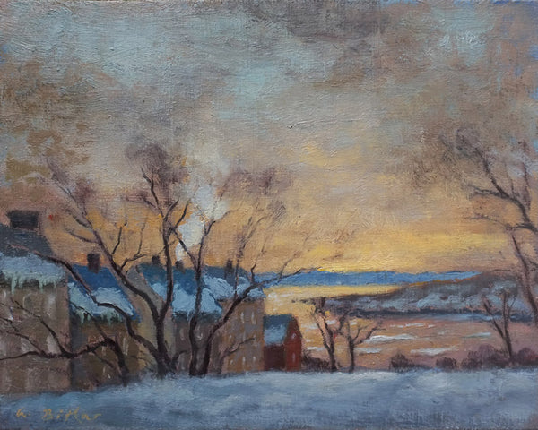 Winter Morning, Quebec