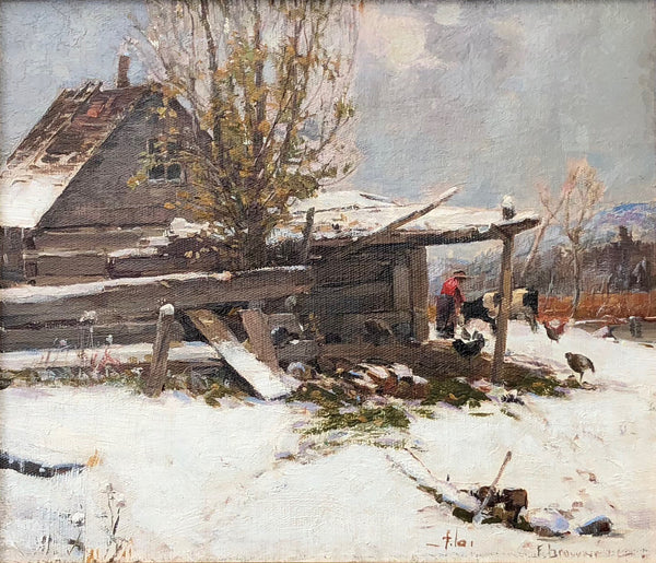 Untitled (winter scene)