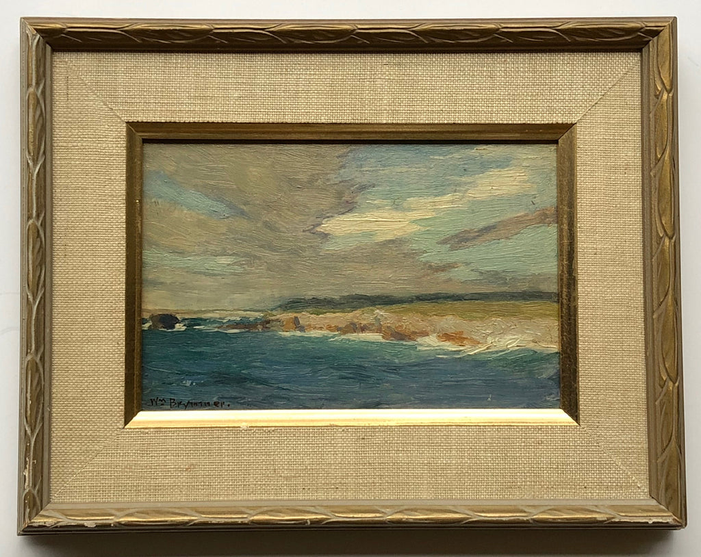 Untitled (seascape with cliffs)