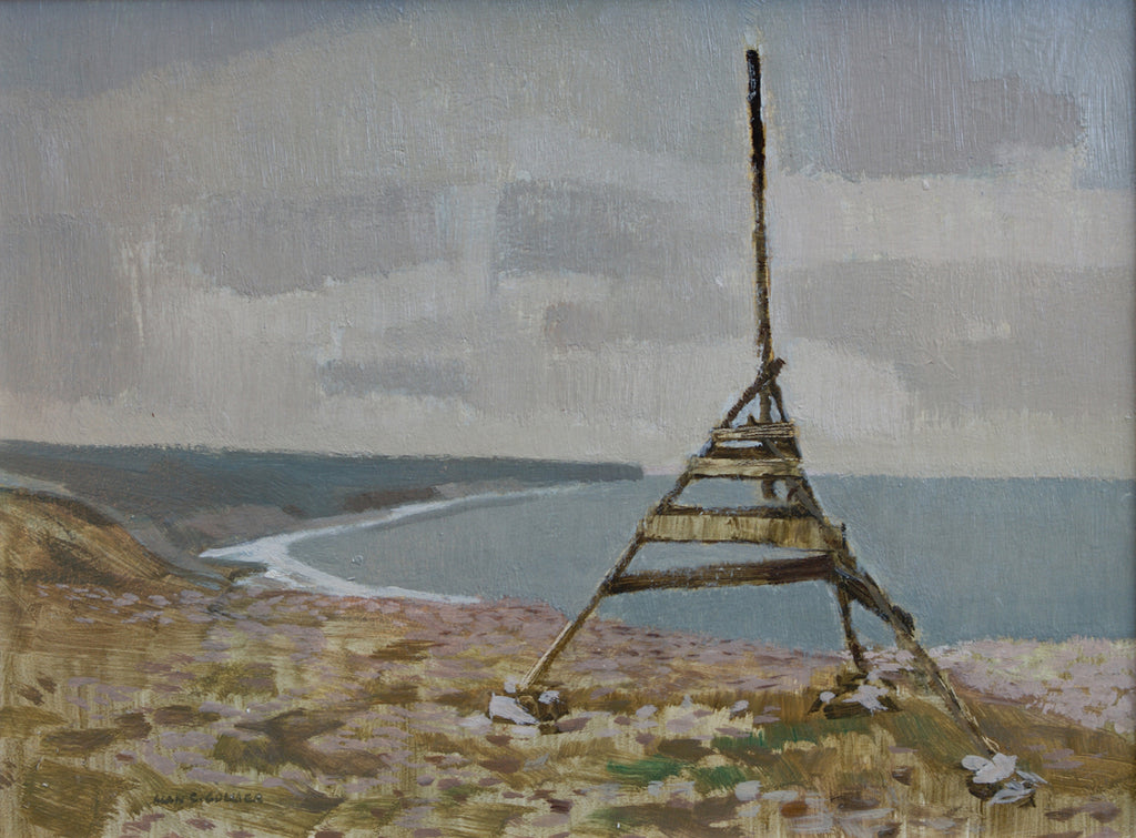 Onshore marker, Straits of Belle Isle, Nfld
