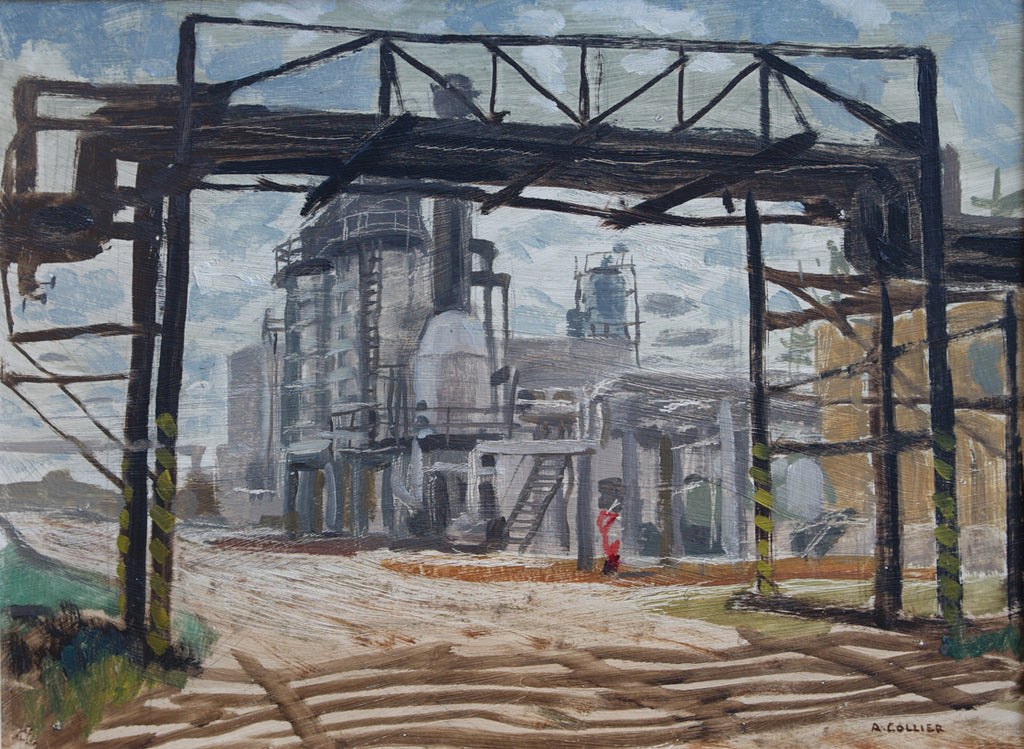 Pipe Bridge, Imperial Oil, Edmonton Refinery